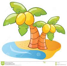 palmier de dessin animé image stock image 5740941