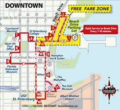 Map Of St Petersburg Florida by St Pete Transportation U2013 Tampa Bay Citizens For High Speed Ferry