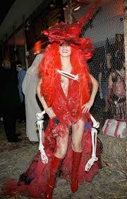 Red Witch Halloween Costume Heidi Klum U0027s Halloween Costumes Glamour