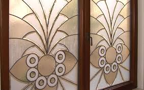 fogged glass door etched glass frosted glass decorative custom glass