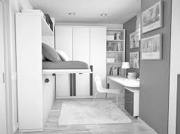 fascinating small space home interior design ideas with white wall