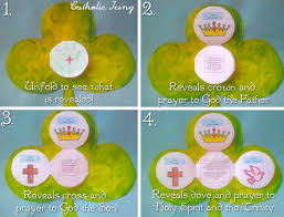 printable trinity shamrock craft perfect craft for st patrick u0027s day