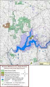 Michigan State Parks Map by Catskill Mountain Club U0027s Catskill Region State Land Maps