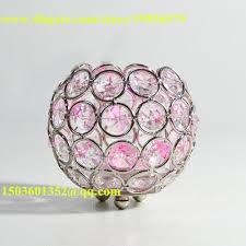 dining table centerpiece decoration using bowl shape clear glass
