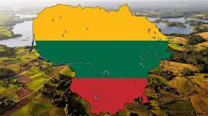 Map Of Lithuania Flag Map Of Lithuania Speedart Youtube