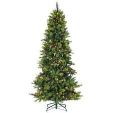 sterling 7 5 ft pre lit mixed needle wisconsin spruce artificial