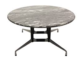 Eames Boardroom Table 5 U0027 Grey Marble Round Conference Table