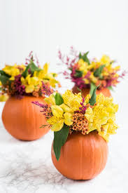 floral arrangements for thanksgiving table diy pumpkin flower arrangements pumpkin flower diy pumpkin and