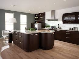 beautiful modern kitchen design and decoration using unique shape