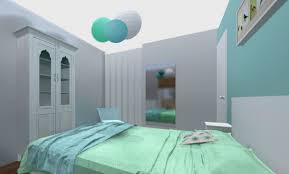 chambre bleu fille décoration deco chambre bleu turquoise 99 nanterre deco chambre