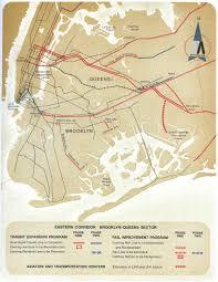 Subway Map Queens by Historical Map New York Metropolitan Transit Transit Maps
