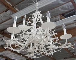 lighting diy lamp shade coral chandelier overstock chandelier