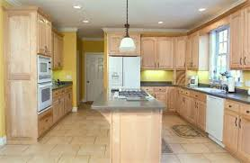 Kitchen Cabinet Wood Stains Natural Maple Stained Kitchen Cabinets Kitchen
