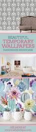temporary wallpaper handmade showcase temporary removable wallpapers craftaholique