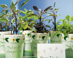 flower pot favors flower pot favors etsy