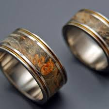 wood wedding rings minter richter wooden wedding rings alchemist titanium ring