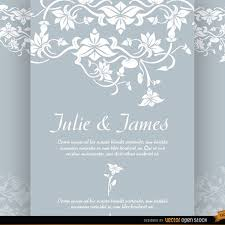 wedding invitations vector floral wedding invitation vector free vectors ui