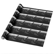 notre dame wrapping paper vintage notre dame cathedral wrapping paper