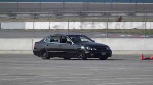 lexus gs400 v8 1999 lexus gs400 speed ventures autocross youtube