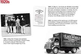 company history about us ace hardware