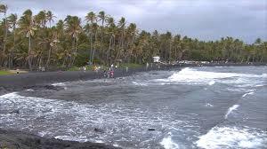 punalu u0027u black sand beach park hawaii super beaches hawaii youtube