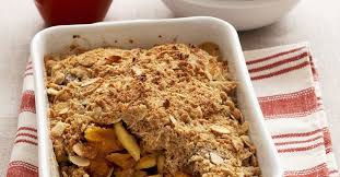 apple pear crumble apple pear and dried apricot crumble recipe eat smarter usa