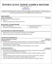 Sample Resume For Recent College Graduate With No Experience by Sample Rn Resume Objective New Grad Nurse Resume Graduate Nurse