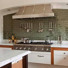 Green Kitchen Backsplash Tile 15 Beautiful Kitchen Designs With Subway Tiles Rilane