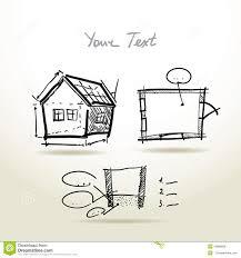 Construction House Plans by House Plans Vector Art House Art