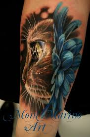 realistic cute animal tattoos photos pictures and sketches