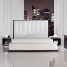 Elegant White Bedroom Sets Glossy White Bedroom Furniture Vivo Furniture