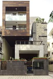 okm 4 story building designed for a private residence and