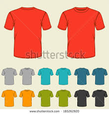 t shirt template stock images royalty free images u0026 vectors