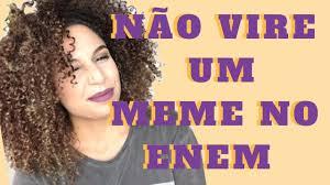 Vire Meme - enem 2017 não vire um meme amanda farah youtube
