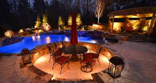 outdoor landscaping lights georgia lightscapes photo slideshow outdoor landscape lights