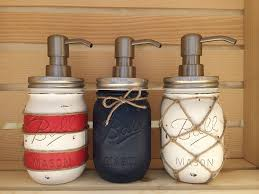 Anchor Bathroom Accessories by Choose 1 Mason Jar Soap Dispenser Nautical Nautical Decor