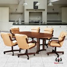 dinette table and chairs with casters douglas furniture dinette sets kitchen furniture dinette online