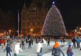 town of clay hosts tree lighting festival get out syracuse com