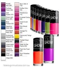 amazon com lot of 10 maybelline color show finger nail polish no