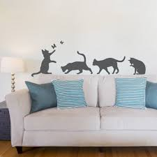 cats wall decal cats wall art decal