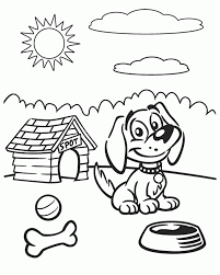 dog coloring pages online dogs online coloring pages page 1 pertaining to cartoon dog
