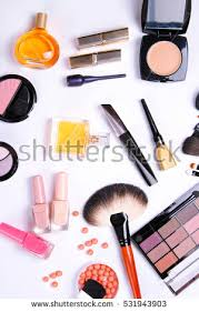 Makeup Artist Supplies Black White Art Supplies On Pink Stock Vector 511372072 Shutterstock