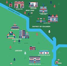 Washington Dc Neighborhood Map by The Best Value Neighborhoods In Washington Dc
