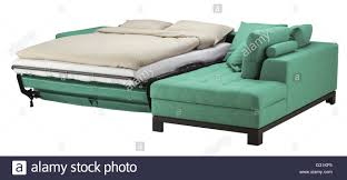 corner couch corner couch bed isolated on white include clipping path stock