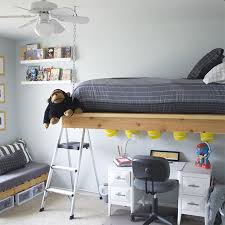 HOME DZINE Home DIY Make A Hanging Or Suspended Bed - Suspended bunk beds