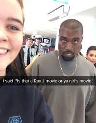 Ray J Kardashian Meme - girl totally burns kanye and kim in person thathappened