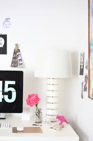 lucite desk accessories one room challenge u2014 office makeover with vintage finds house of