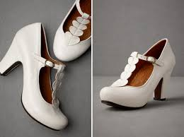 vintage style wedding shoes chie mihara on bhldn heartstring heels weddings white shoes