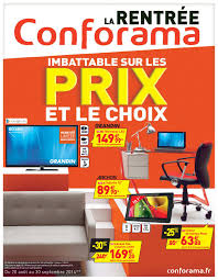 conforama catalogue chambre conforama catalogue 20aout 30septembre2014 by promocatalogues com