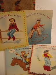 494 best western cards images on cowboy